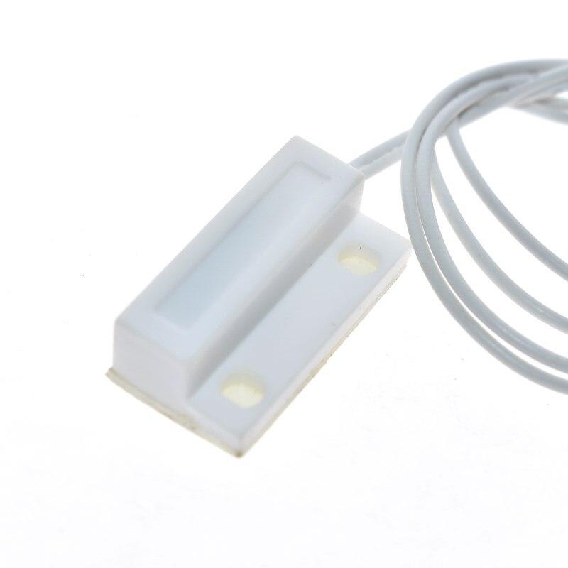 Capteur de porte et fenetre filaire MC38  interrupteur magnetique aleatoire avec fil allonge de 30mm  systeme dalarme domestique pour arduino