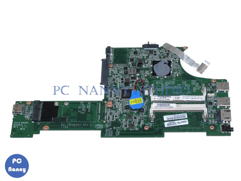 NOKOTION para LENOVO THINKPAD X140e ordenador portátil placa base DALI2KMB8D0 04X5385