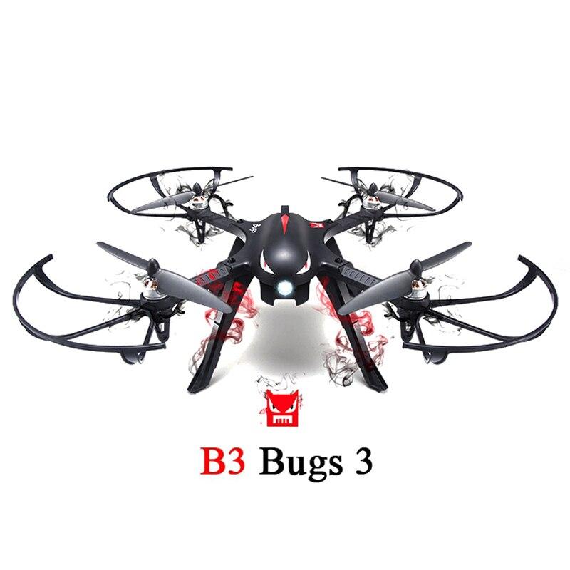 MJX B3 Bugs 3 RC Quadcopter RTF ، ثنائي الاتجاه 2.4 جيجا هرتز 4CH مع حامل كاميرا الحركة