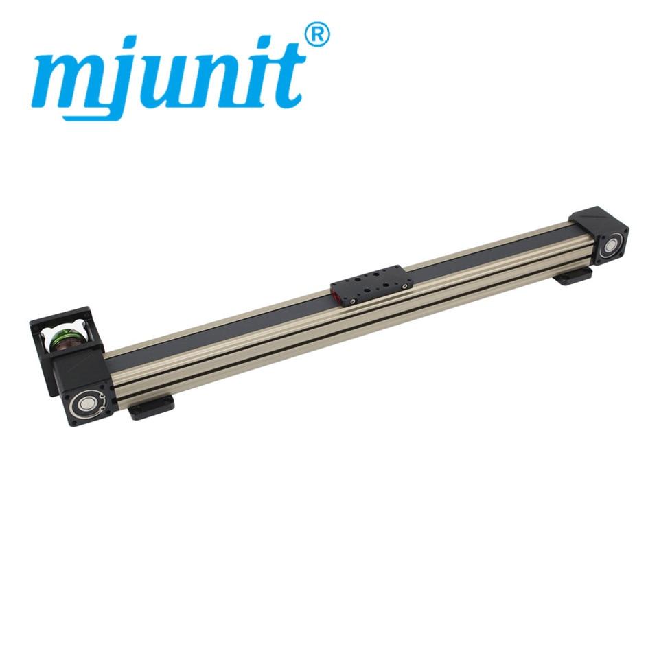 Mjunit 45X المهنية المصنعين من عالية السرعة ضوء تحميل ، عالية الجودة و منخفضة الضوضاء متزامن حزام وحدة دليل السكك الحديدية