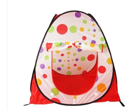 Бесплатная доставка, большая портативная складная детская палатка, для игр с мячом, для игр в помещении и на открытом воздухе