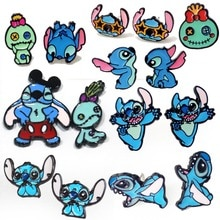 Stitch Series Fashion Anime Cartoon Earring Cute Animal Stud Earrings For Women Girls Kids Jewelry New Birthday Gift