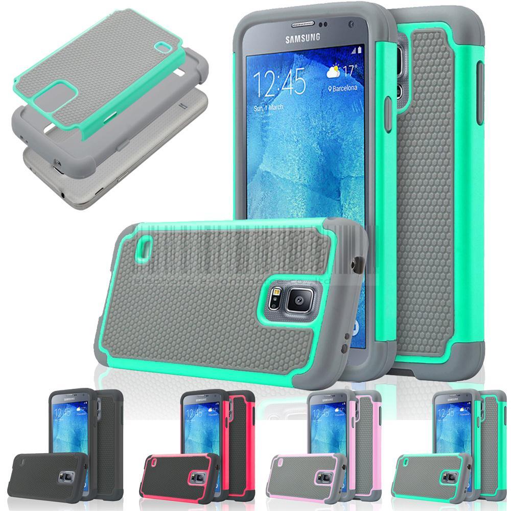 2in1 Rugged Impact Hybrid Silicone Hard Case Combo Cover For Samsung Galaxy S5 Neo SM-G903F G903W/S5 G900F G900H G901F I9600
