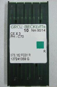De Groz Beckert chenille bordado aguja CEX3 PHxC70 Nm 90/14 para Tajima Barudan máquinas de bordado China