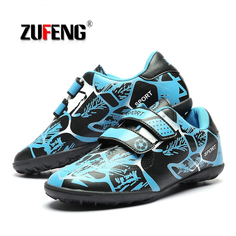 Professional  Boys Kids Soccer Shoes Outdoor Sports Training Football Boots TF Turf Soles Botas De Futbol Sneakers Size 31-39
