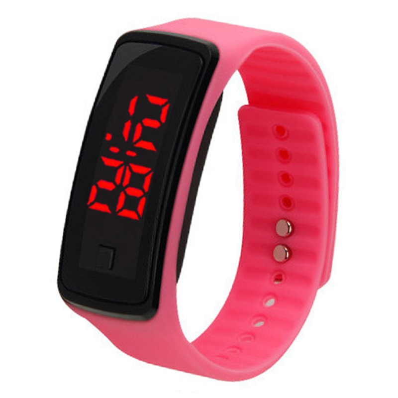 Women's Watch 2018 New Sports Rubber Colorful Clasp Bracelet Quartz Wrist Watches Water Resistant Fashion Casual Watch