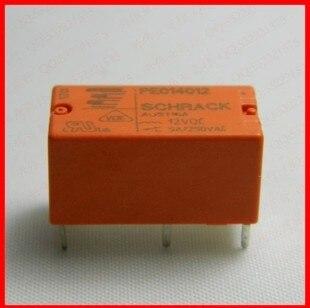 Envío Gratis 100% nuevo original relé 10 unids/lote relé de Schrack PE014012 12VDC