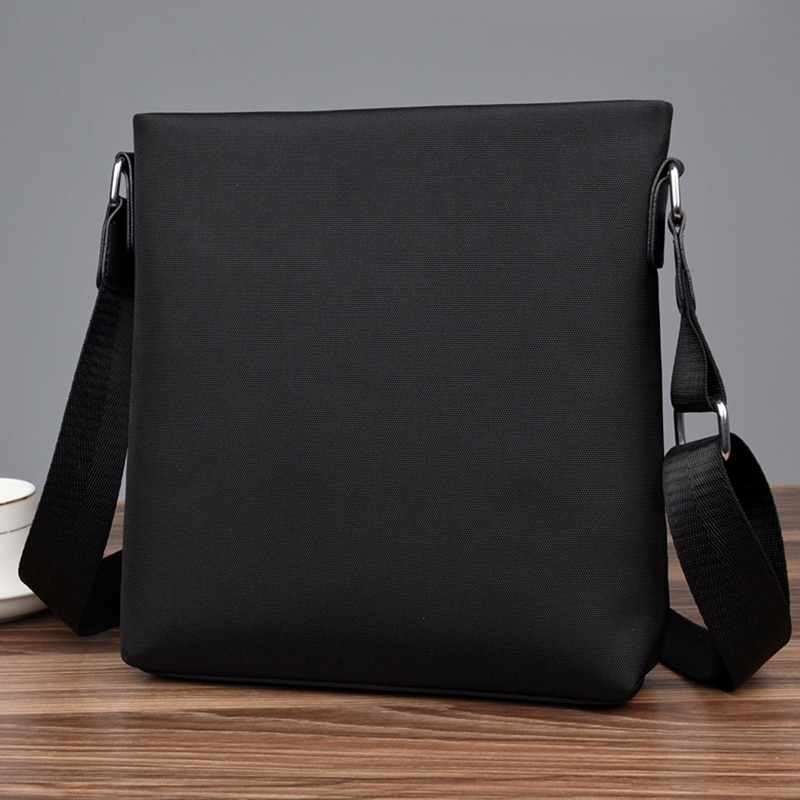 PURANI Oxford męskie torby kurierskie uniwersalne męskie Business Casual pojedyncze torby na ramię torebka wodoodporne solidne tornistry Fesigner