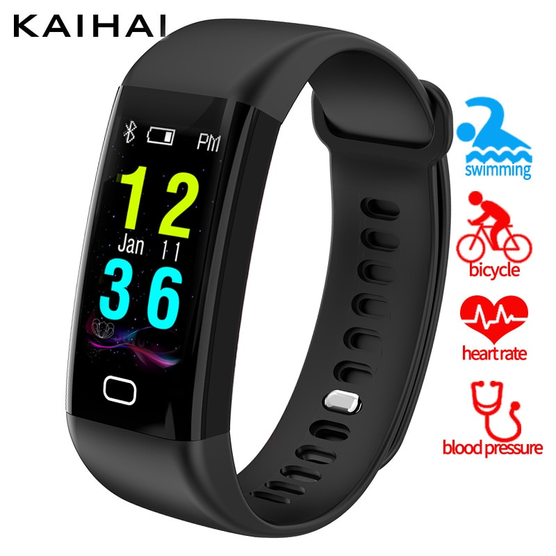 KAIHAI fitness tracker smartband natación ip68 reloj ritmo cardíaco presión arterial oxígeno Monitor pulsera inteligente pulsera