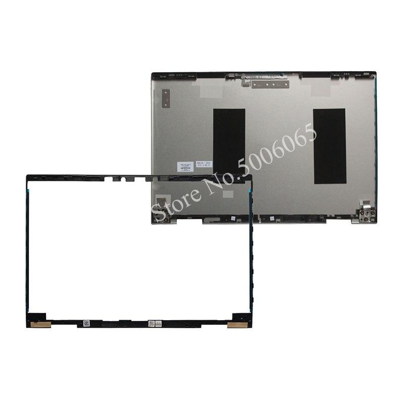 Cubierta trasera plateada LCD para portátil/bisel frontal LCD para HP Spectre x360 15-CN 15-CN013TX 15M-CN 609939-001