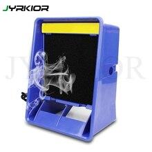 Jyrkior 110/220V Solder Smoke Absorber Remover Fume Extractor Air Filter Fan For Soldering