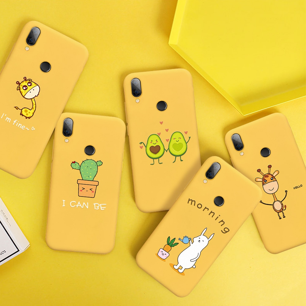 Phone Case For Xiaomi Redmi Note 7 6 5 Pro Mi9 SE Mi8 Lite Soft Silicone Cover For Redmi 7 7A 6 Pro