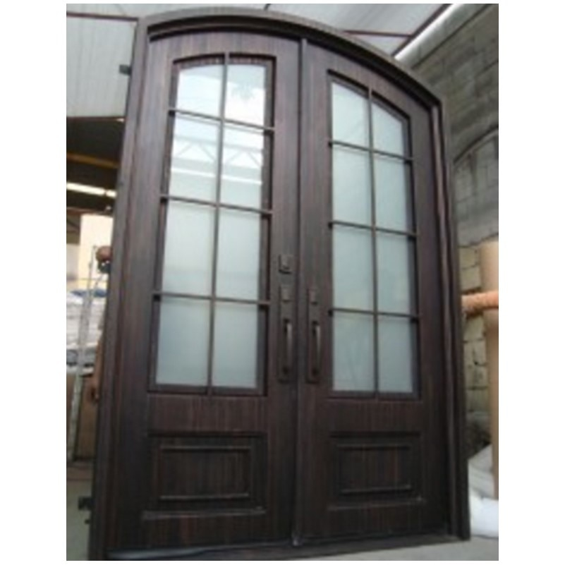 Inserts de portes décoratives en fer forgé   En fer, portes dentrée en fer, houston