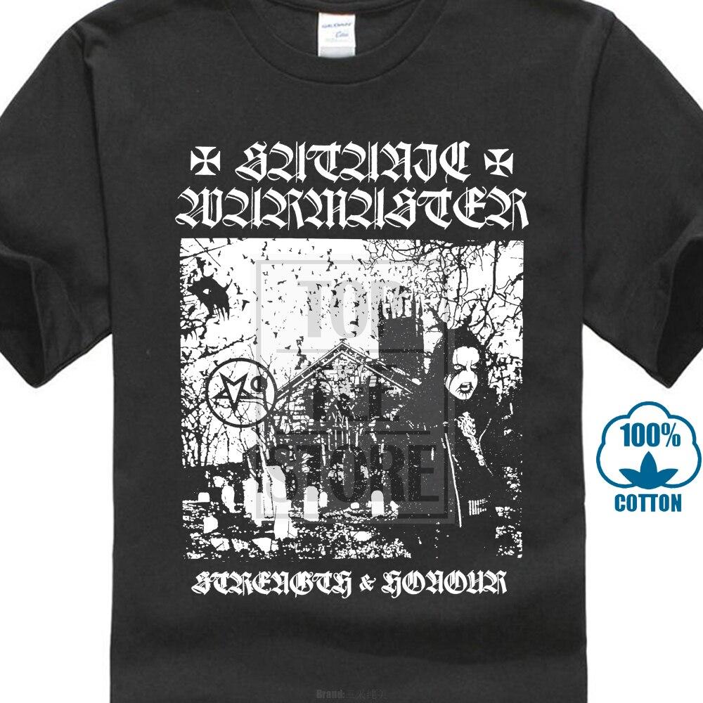 Альбом Satanic Warmaster Strength And Honour, футболка