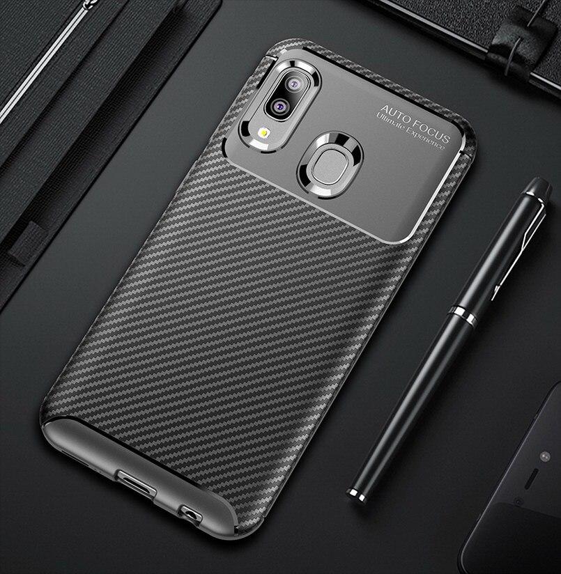 Funda de teléfono de lujo para Samsung Galaxy A20E Fundas smartphone suave...