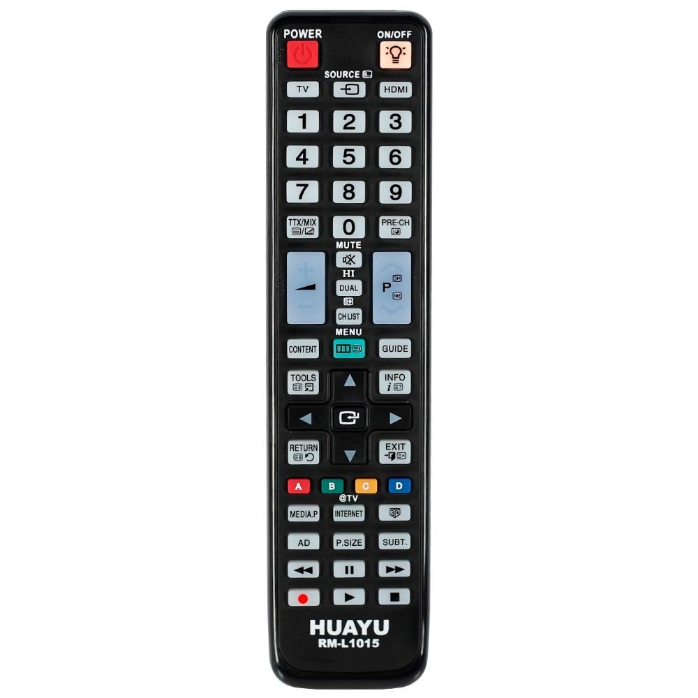 1 pçs uso para samsung tv controle remoto AA59-00508A AA59-00478A AA59-00466A BN59-01014 lcd 3d smart tv controlador huayu