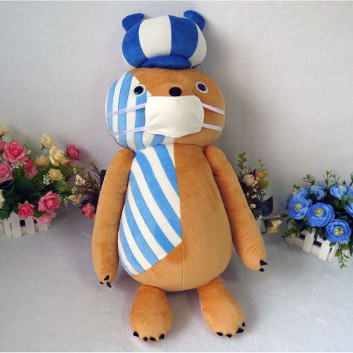 Perona Kumasy cosplay plush toy anime One piece Kumasy pet bear plush doll 60cm soft high quality pillow free shipping