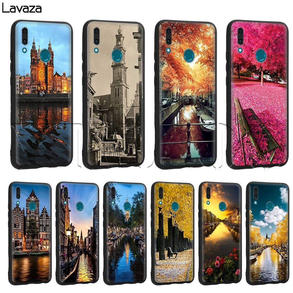 Nueva Amsterdam caso Huawei Mate 10 P8 P9 P10 P20 P30 P40 Y7 Y9 Lite Pro Max P Smart Mini 2017, 2019 de 2018