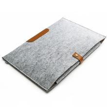 "15 ""Wol Liner Vilt Ultrabook Laptop Sleeve Bag Case Voor Macbook Air/Pro Graphics Tablet"