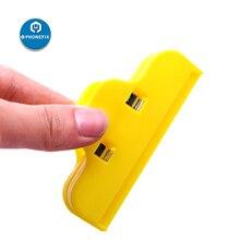 PHONEFIX Plastic Clip Fixture Phone Screen Fastening Clamp Holding Repair Tool for iPhone Repair Glass Tablet PC Fasten Clip