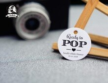 Etiquettes rondes kraft/blanc en papier   200 pièces, 3.5cm, étiquettes de prêt-à-pop pour personnalisation de vêtements, étiquette de enterrement de vie de jeune fille