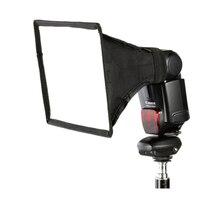 15x17cm universel Flash carré Softbox diffuseur pour Canon Nikon Sony Pentax Metz Yongnuo Olympus Speedlite
