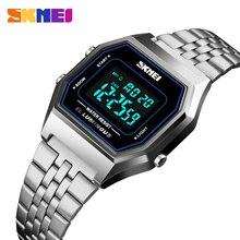 SKEMI Women Watches Luxury Brand Sports Ladies Watch Fashion 30M Waterproof Digital Wrist Watches For Women Relogio Feminino