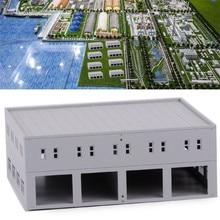 Garage Modell Zug Eisenbahn Layout Logistik Centre Fabrik Modell Gebäude HO N 1 87 1100 1144 skala Gauge Szene Layout Modell