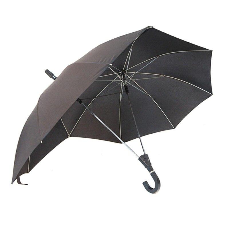 2017 novidade automática de duas pessoas guarda-chuva guarda-sol amante casais guarda-chuva dois cabeça haste dupla guarda-chuva bumbershoot
