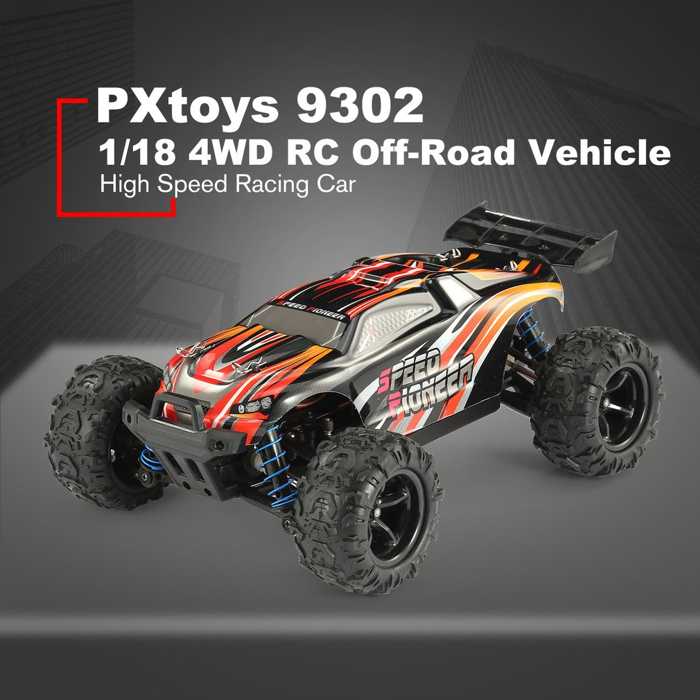 Pxtoys 9302 1/18 4WD rc カーオフロードバギー車両高速レーシングカーパイオニア rtr モンスタートラックリモートコントロールおもちゃの z