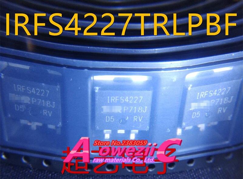 Aoweziic 2017+ 100% new original imported IRFS4227TRLPBF IRFS4227 TO-263 MOSFET transistor 62A 200V