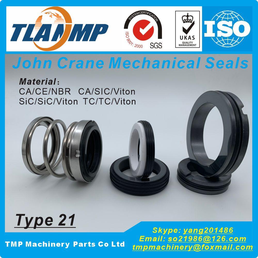 """Juntas mecánicas John Crane TLANMP tipo 21-1 """" , T21-1""""   Sello de fuelle de elastómero tipo 21 para bombas de eje de tamaño 25,4mm"""