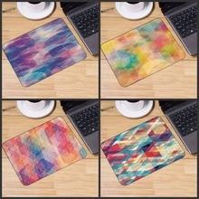 Mairuige Beelden van Abstracte Geometrische printing Rubber muis mat Game toetsenbord muismat Notebook Tafel Mat muismat