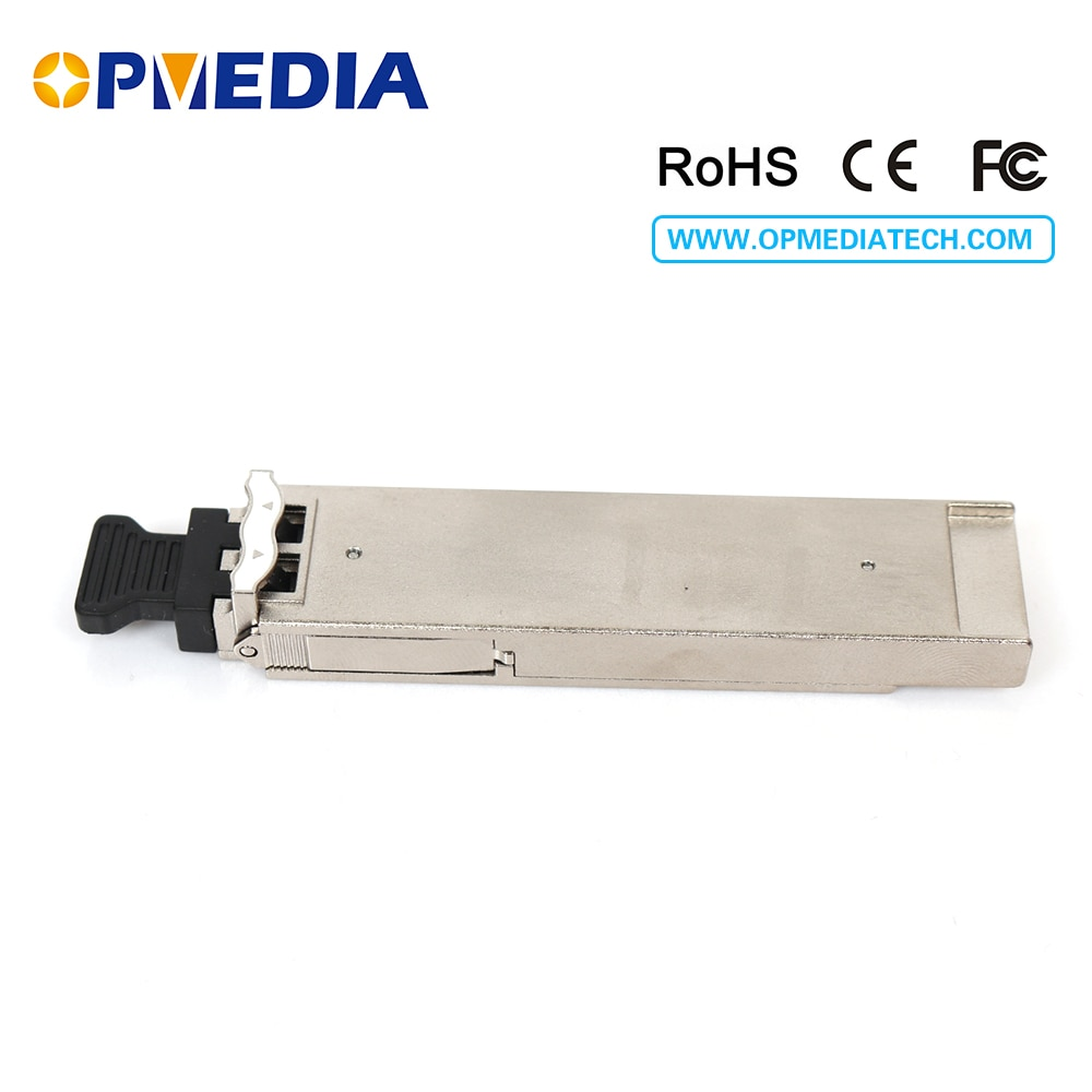 Compatible with Juniper 10GEBASE CWDM XFP transceiver, 80km 1470~1610nm, duplex LC connector,DDM function free shipping