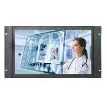 Moniteur tactile industriel de cadre ouvert de moniteur tactile large de 17.3 pouces 1920*1080 moniteur tactile en métal de haute résolution avec VGA/HDMI/USB