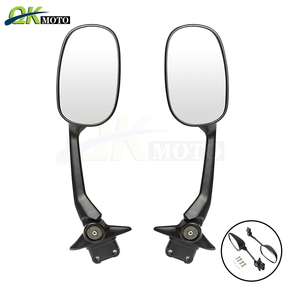 Motocicletas accesorios espejos retrovisores espejo lateral para Husqvanrna Honda, Kawasaki, ER-6F ER-6N Ninja 300ABS 600, 636 de 1000 Z750