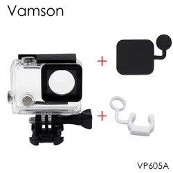 Vamson Wasserdichte Schutz Gehäuse Case für GoPro Hero 4 3 + Action Kamera mit Halterung für Go Pro Hero4 Zubehör