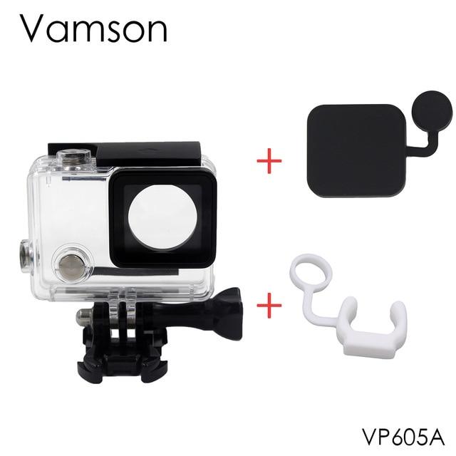 Vamson водонепроницаемый защитный чехол для GoPro Hero 4 3 + экшн-камеры с кронштейном для Go Pro Hero4 аксессуары