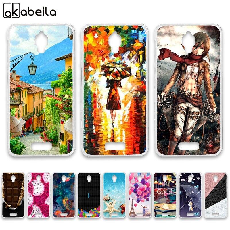 Чехлы для телефонов из мягкого ТПУ AKABEILA для Lenovo S660 S668T S 660 4,7 дюймов Чехлы Nutella Flamingo Tetris силиконовые чехлы для задней панели