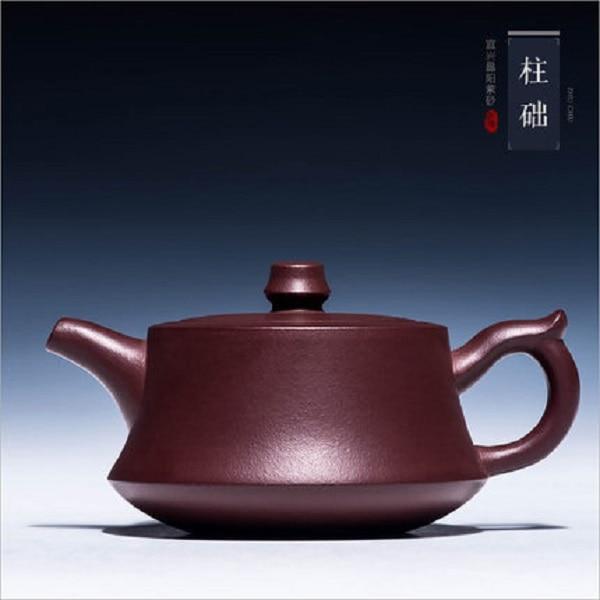 Yixing-إبريق شاي من الطين الأرجواني ، إبريق شاي من الحجر العالي ، للكتب: Zhou ting 201 مللي-300 مللي ، أواني الشاي الصينية Zisha ، شحن مجاني