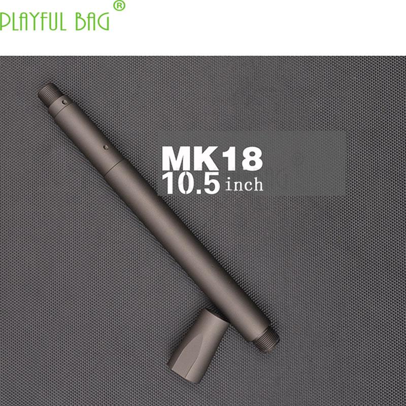 Actividad al aire libre CS juguete pistola de balas de agua accesorios TTM MGPPL caso Jinming 9th generación MK18 pesado tubo 10,05 pulgadas PI23