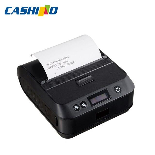 Impresora térmica portátil bluetooth de 80mm para android e IOS PTP-III (WIFI + USB)