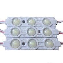 IP68 Samsung SMD 5630 5730 a mené la Lumière De module De lampe Publicitaire 1.5 W 3leds Signe Rétro-Éclairage Étanche 12 V blanc SAMSUNG puce
