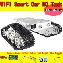 Robot en métal Tank Car châssis T300 Caterpillar tracteur chenille Robot Intelligent Obstacle accessoire pièce bricolage RC jouet