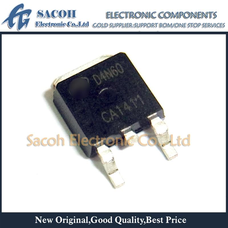 Envío gratis 10 Uds AOD4N60 D4N60 o AOD5N40 o AOD5N50 o AOD5N60-252 4A 600V N-MOSFET de canal
