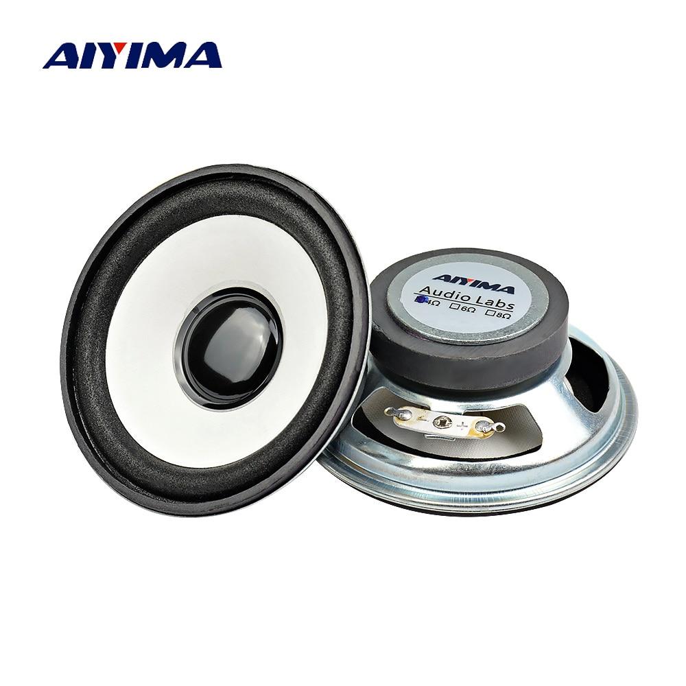 AIYIMA 2 uds 3 pulgadas de Audio Mini altavoces portátiles 4Ohm 10W...