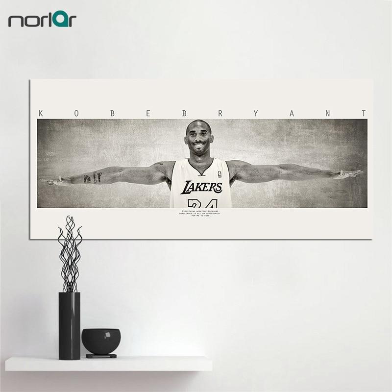 Leinwand Malerei Michael Jordan FLÜGEL Basketball Sport Poster Vintage Dekorative Gemälde Kunst Decor Kein Rahmen