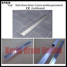"700mm ""Gap"" Style Stainless Steel 304 Linear Shower Drain, Vertical Shower Drain, Floor Waste, Long floor drain, Shower channel"