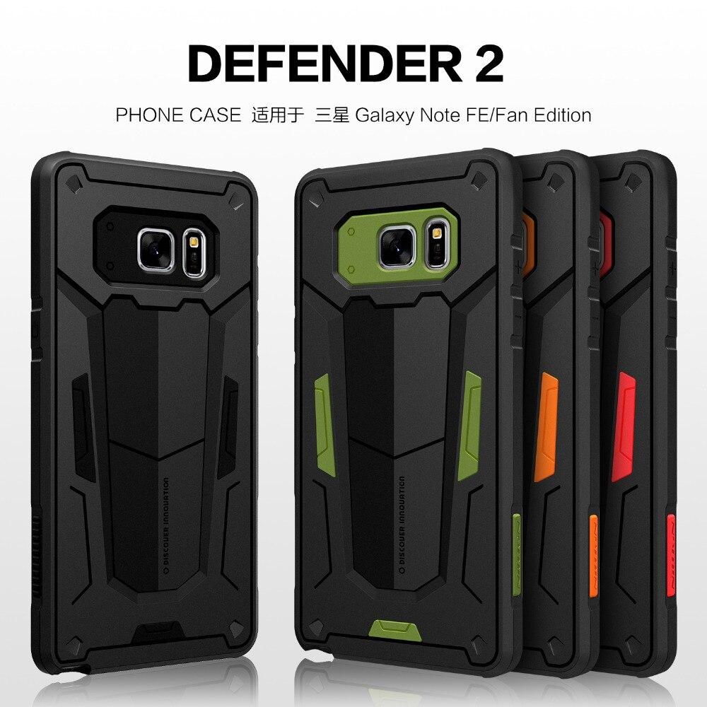 Funda de TPU para Samsung Galaxy Note FE(Fan Edition) Nillkin Defende 2ª generación, funda delgada resistente, funda de silicona, funda para teléfono