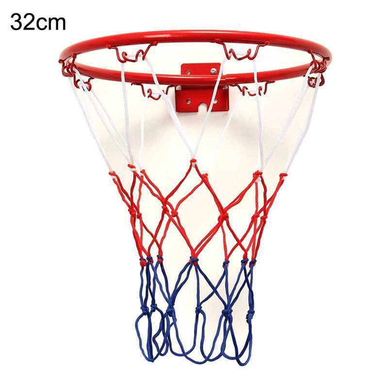 32 cm/12,6 pulgadas Pro tamaño montado en la pared aro de baloncesto meta red Rim Dunk tiro al aire libre gran oferta 2020 basquetebol